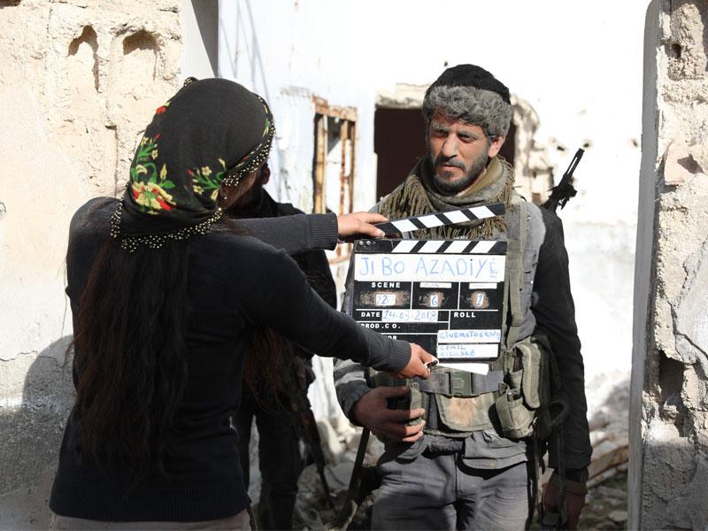 Fîlmê 'Ji Bo Azadiyê' hat kişandin
